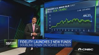 Fidelity now offering four 'zero-fee' mutual funds