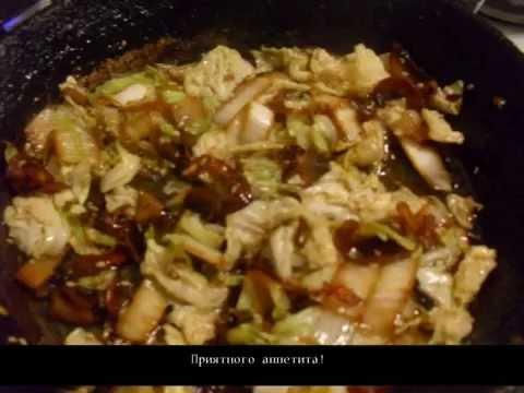 Рецепт Окунь в сливочном соусе с шампиньонами