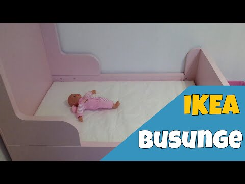 Review Ikea Busunge Bed With Installation Youtube
