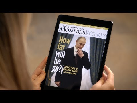 Introducing the Christian Science Monitor tablet app