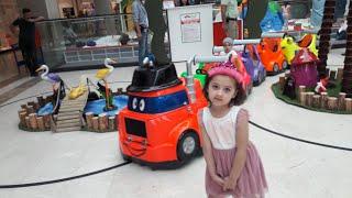 Amasya Park AVM de Oyuncak Tren Keyfi Eğlenceli Çocuk ları
