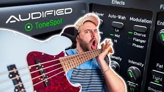 Get the BEST BASS SOUND! - TonePro BASS PRO Plugin by AUDIFIED