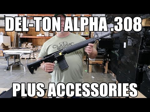 Del-Ton Alpha  308 Plus Some Great  308 Accessories - YouTube
