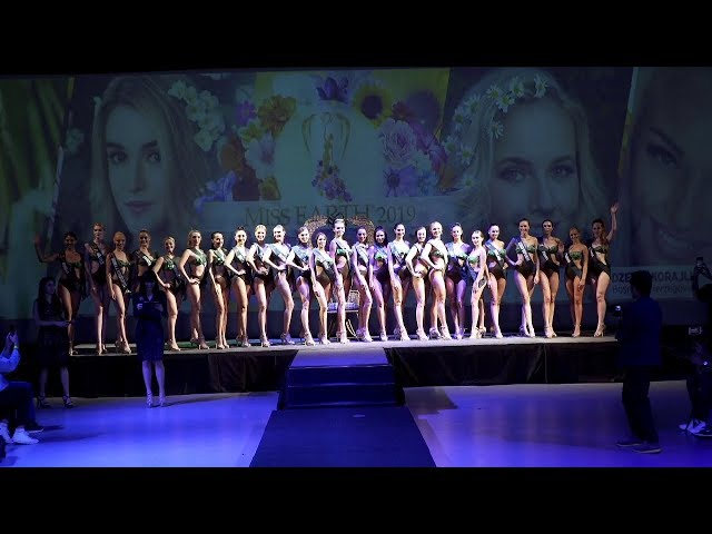 Miss Earth 2019 Figure and Form Preliminary Judging at The Eye, Green Sun