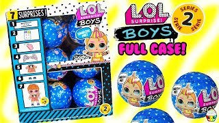 LOL Surprise BOYS Series 2 FULL CASE Will We Finish The Series???