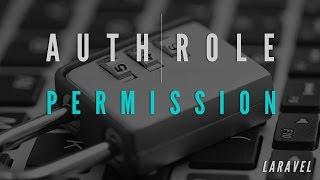 Auth Role Permission Basic in Laravel