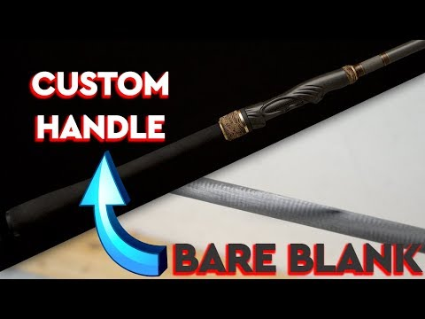 How To Make A JDM Style Fishing Rod Handle
