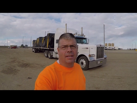 #100  Loaded Up Heading to Arkansas The Life of an Owner Operator Flatbed Truck Driver Vlog