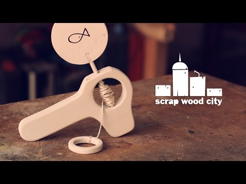 Wooden DIY animation toy