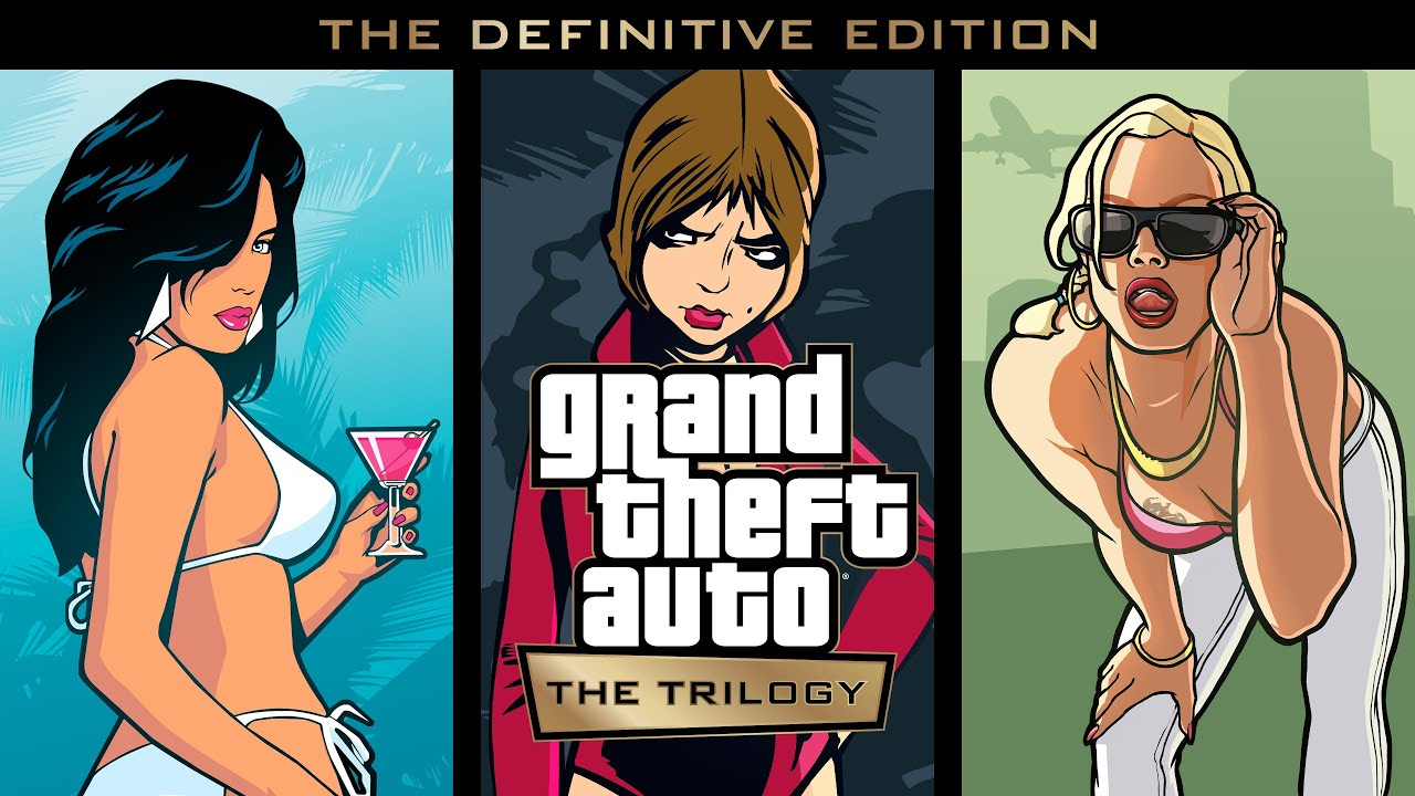 Grand Theft Auto The Trilogy  The Definitive Edition Trailer