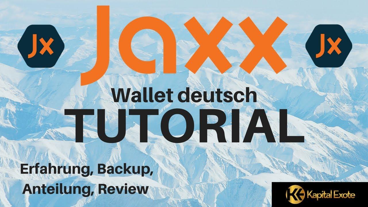 Jaxx Wallet Deutsch