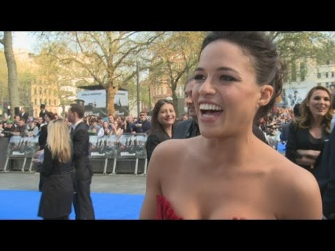 Fast and Furious 6 premiere: Michelle Rodriguez reveals who the biggest softies are on set Travel Video