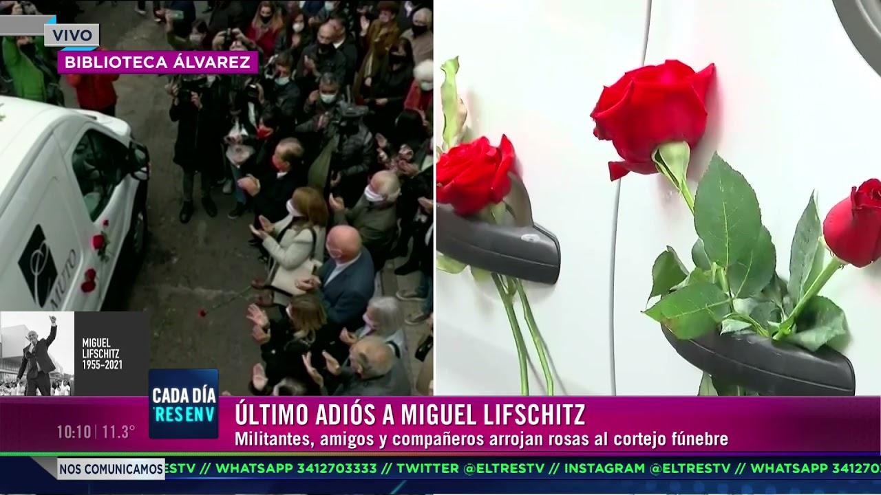Último adios al cortejo del ex gobernador Lifschitz