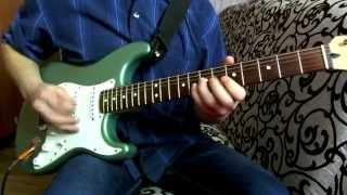 шутка Баха на электро гитаре, joke Bach on electric guitar