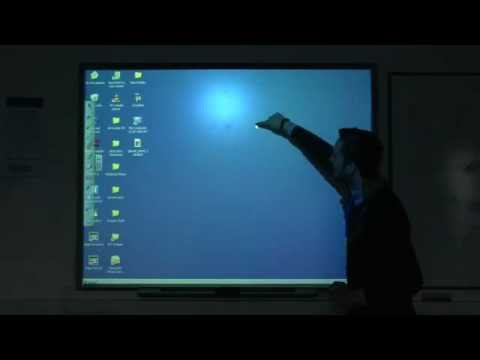 Calibrating a SMART Board