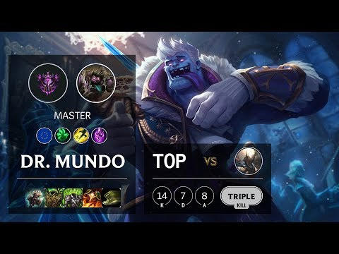 Dr. Mundo Top Vs Pantheon - EUW Master Patch 10.4