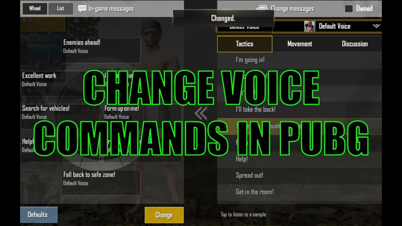 How To Get More Voice Commands In PUBG Mobile « 3nions
