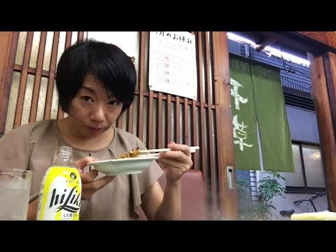 女一人飲み【焼きそば】瓶チューハイで酔っ払い(大阪天満 千草)