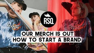 Our Merch Is Out! How to start a fashion brand + our office tour | Q2HAN