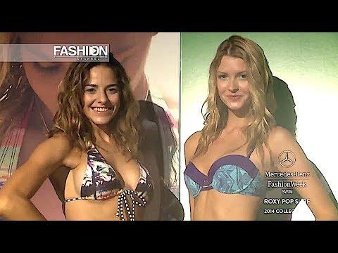 ROXY POP SURF Swimwear Spring Summer 2014 Miami - Fashion Channel