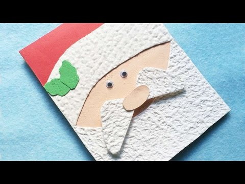 How To Make An Adorable Santa Christmas Card - DIY Crafts Tutorial - Guidecentral