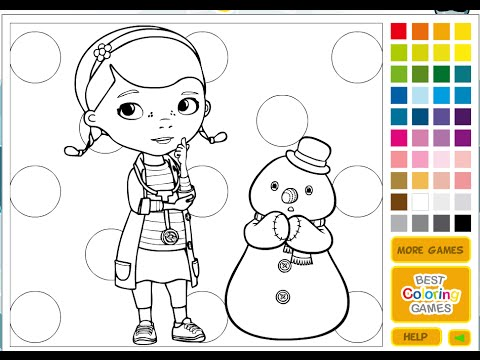 Free doc mcstuffins coloring pages for kids doc mcstuffins coloring pages youtube