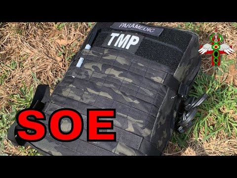 SOE Special Operations Equipment Medical Backpack