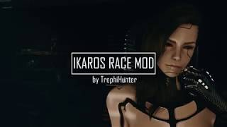 IKAROS Androids Race Fallout 4 Mod - Short (CP2077 Tribute)