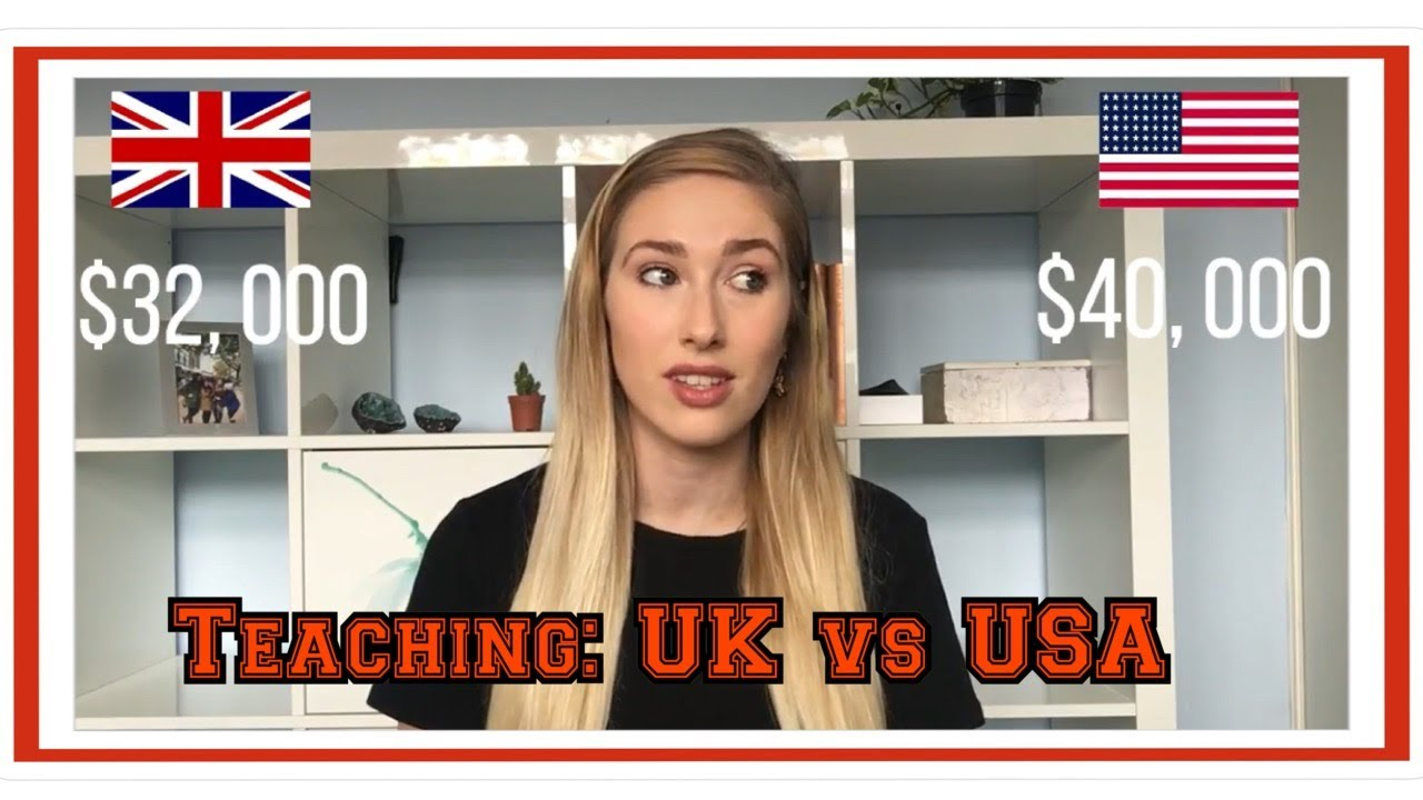 Teaching in the UK vs USA |  4 MAJOR DIFFERENCES
