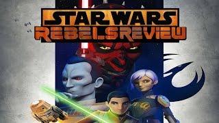 "Star Wars Rebels Season 3 Finale  Review ""Zero Hour"""
