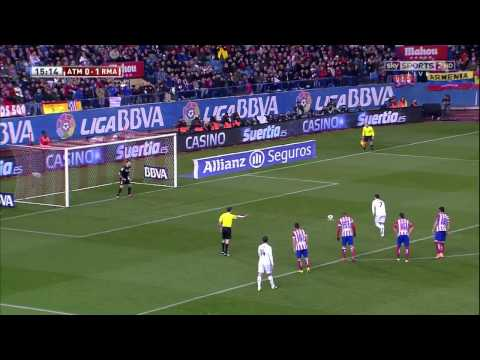 Copa Del Rey 11 02 2014 Atletico Madrid vs Real Madrid - HD - Full Match - 1ST - English Commentary