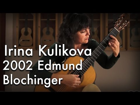 Bach Sarabande played by Irina Kulikova