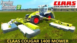 farming simulator 17 claas cougar 1400 self propelled mower