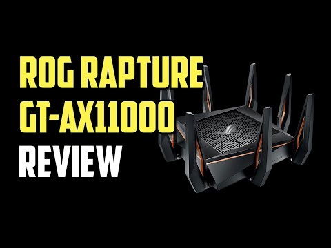 Asus ROG Rapture GT-AX11000 Review - The Best Gaming WiFi 6 Router 2019?