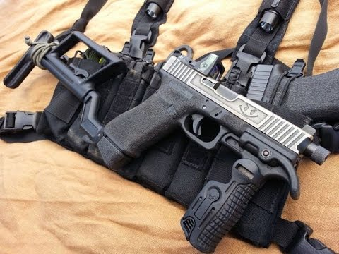 GS17: Glock 17 Pistol to PDW Conversion