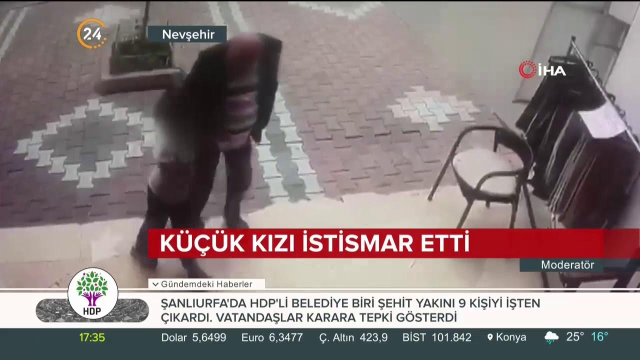 Nevşehir'de 82 yaşındaki adam küçük kızı taciz etti. İşte o görüntüler
