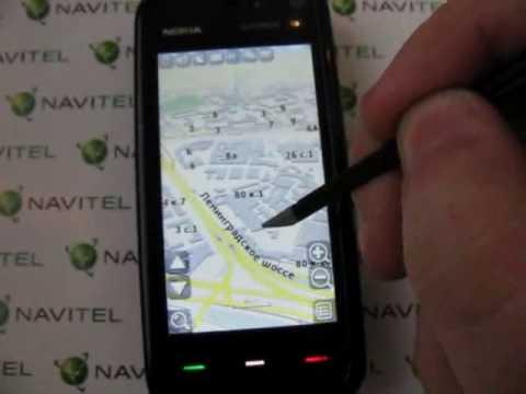 Навител Symbian beta на Nokia 5800 review