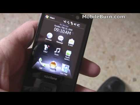 Garmin-ASUS nuvifone M20 live hands-on