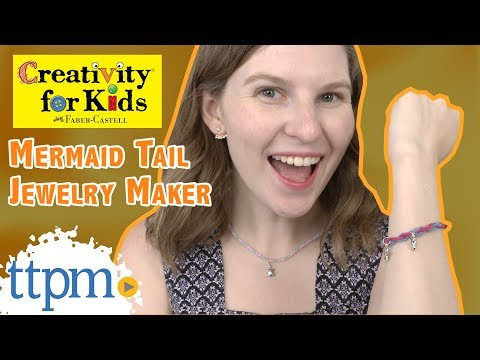 Creativity for Kids Mermaid Tail Jewelry Maker from Faber-Castell