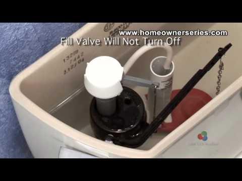 Toilet Repairs Fill Valve