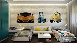 14 Captivating Child's Room Designs With Brick Walls