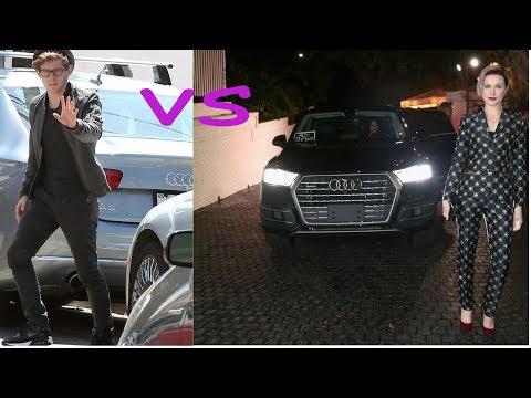 Jamie bell cars vs Evan rachel wood cars (2018)