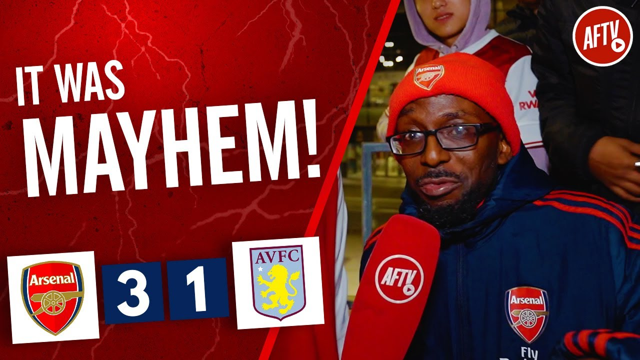 Download Arsenal 3-1 Aston Villa | It Was Mayhem! (TY)