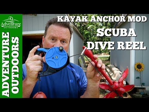 Kayak Anchor Line Storage Mod With Scuba Dive Reel ~ I Like It