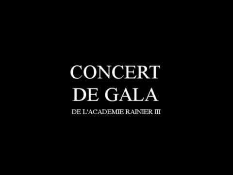 Concert de GALA de l' Académie de Musique Rainier III, 2017. Monaco