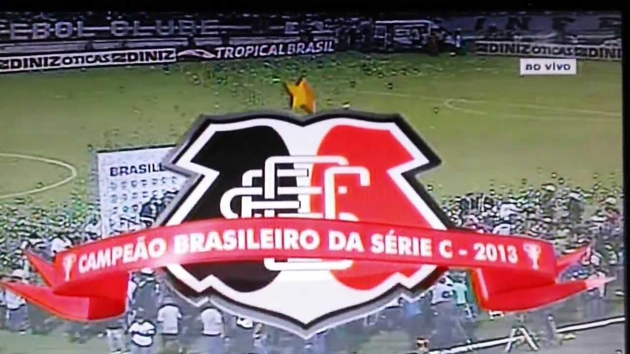 22fde9448 SANTA CRUZ CAMPEÃO BRASILEIRO SERIE C 2013 - YouTube
