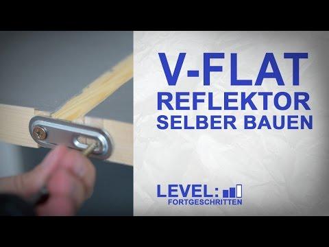 V-Flat Reflektor fürs Studio selber Bauen