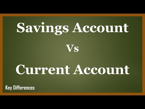 Savings Vs Current Account: Difference between them with features & comparison