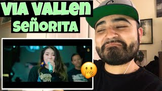 Reacting to Via Vallen Senorita Koplo Cover Version