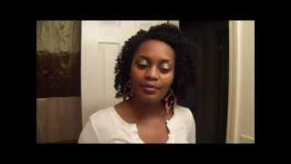 """Vlog: Hair """"talk"""" Thumbnail"""